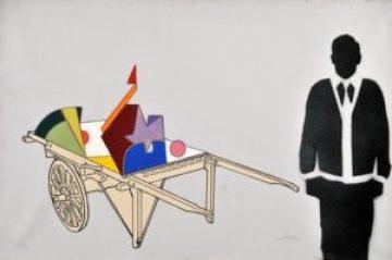 Opera di Renato Mambor