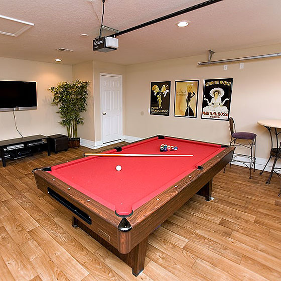 Game Room? -or- Garage? Let us move your table into its new place.