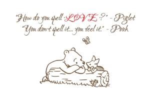 winnie the pooh love2