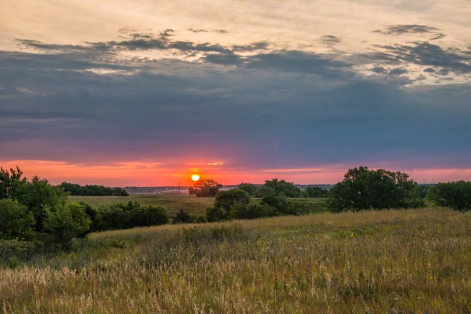 Dawn from the Far Western Hill