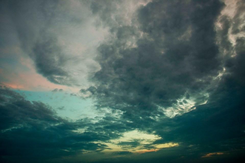 Predawn Sky Drama - Aug 24 2013