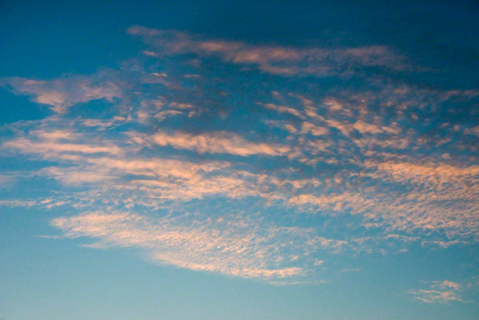 High Wispy Clouds of a Morning