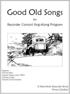 Good Old Songs: Contents
