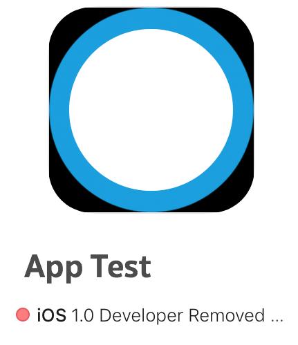 การลบแอปของจาก appStore และ iTunesConnect