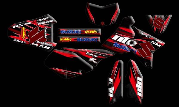 Custom DRZ 400 SM Graphics Kit