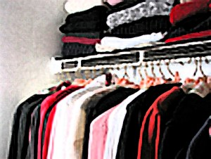 """Closet full of clothes: """"nothing to wear"""""""