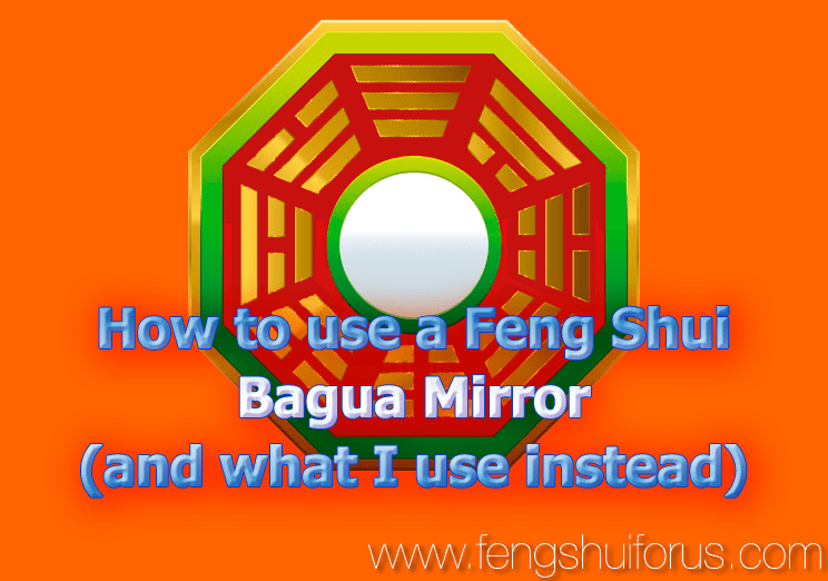 how to use a feng shui bagua mirror