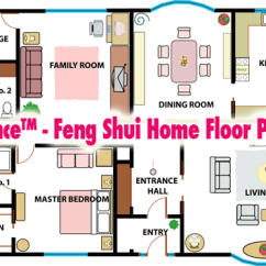 Online Kitchen Layout Planner Showrooms Nj Simple Balance™ - Feng Shui Home Floor Plan Analysis ...