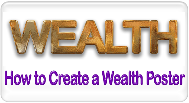 feng shui wealth poster