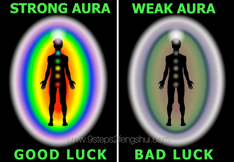 Are you lucky? (How's your aura?) - Nine Steps to Feng Shui®