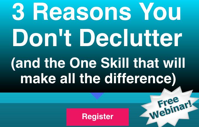 feng shui declutter free webinar