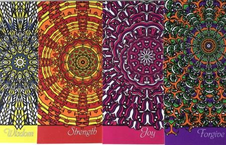 Wisdom - Unlimited Freedom card deck by NineTomatoes