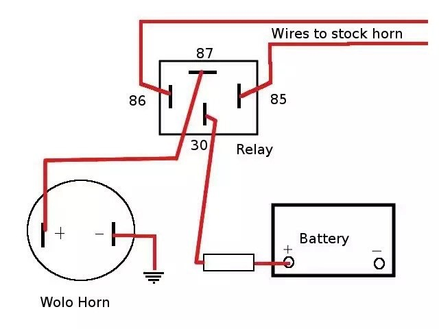 wolo horn wiring diagram 2001 ford expedition fuse box loud horns save lives - bmw ninet forum