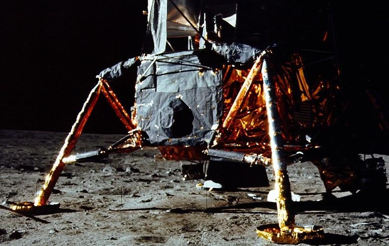 Lunar Module Descent Stage Quad III