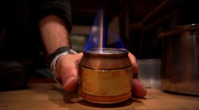 Homemade Camp Stove Trick