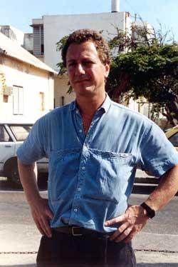 Tedy in Tel Aviv summer 1991