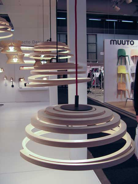 New model of the wooden ceiling lamps.