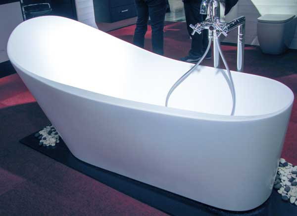 There were bathtubs too.