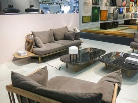 Sofas with inbuilt sidetables