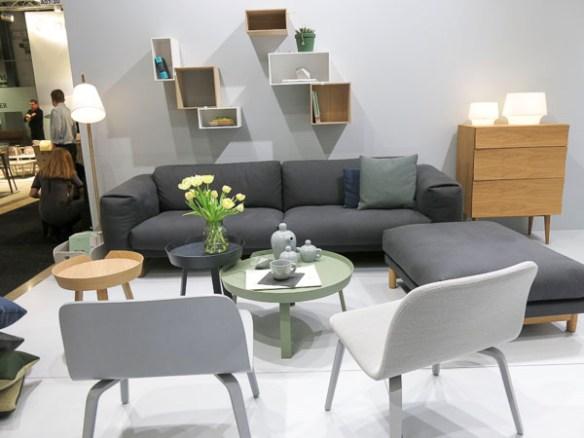 Muuto sofas and chairs