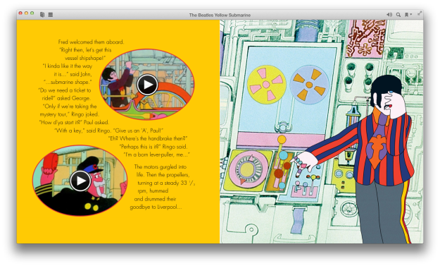 ebook, yellow submarine