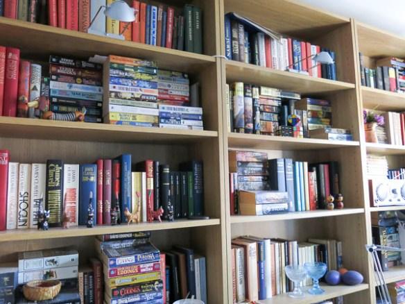bokhyllor, books, book-cases, böcker