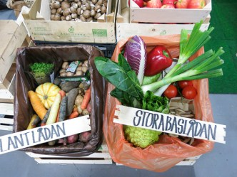 Veggie-boxes for subscription