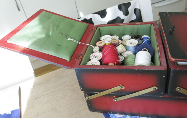 sewing kit, syskrin