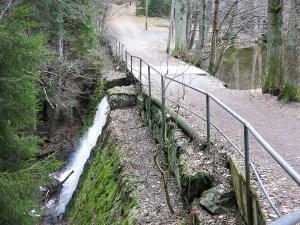 dam, waterfall, tumba