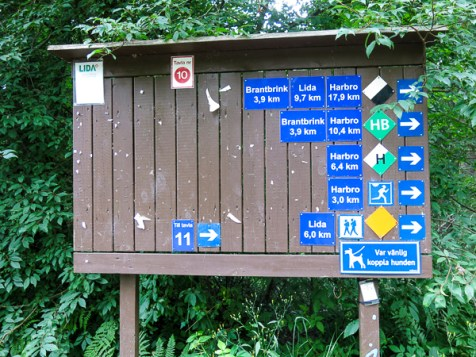 Information about the path