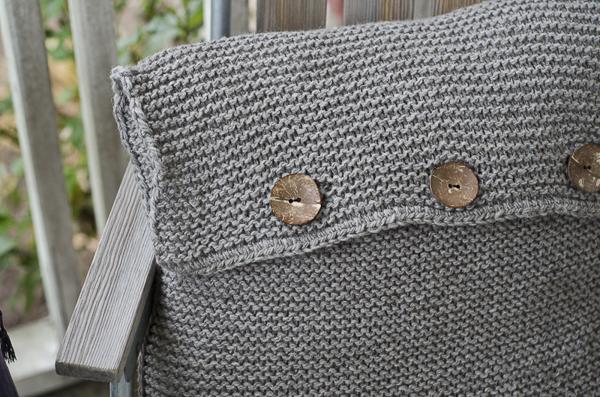 pillow, pillowcase, knitted