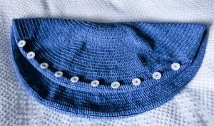 pillowcase, crocheted