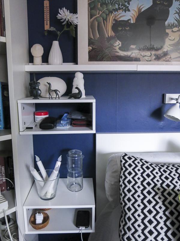 boxes, storage, bedroom