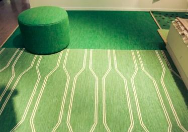Beautifully green carpets