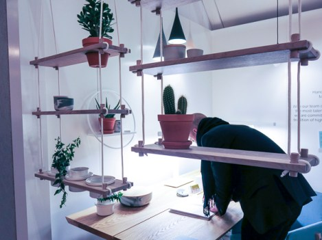 Also a way of hanging plants indoors.