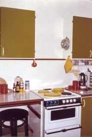 No kitchen fan? Had forgotten that.