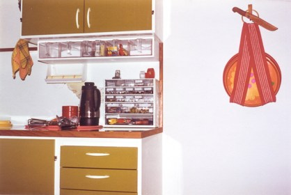 I hated the color fo those cupboards and drawers.