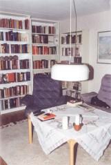 Book-case corner.