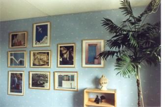 Bedroom wall.