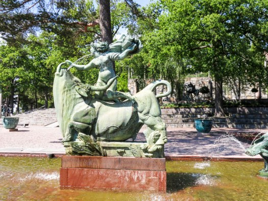 millesgården, europa-and-the-bull