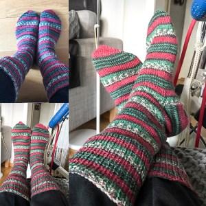 knitting, socks