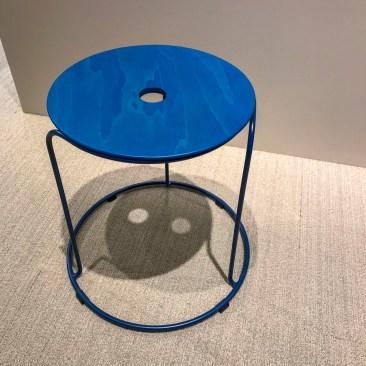 One single stool.