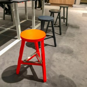 More stools.