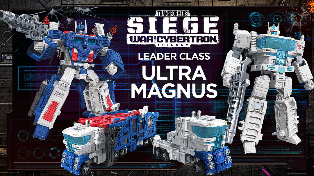 Transformers at SDCC 2018 - new Siege: War for Cybertron toys revealed!