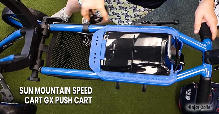 Sun Mountain Speed Cart GX Push Cart