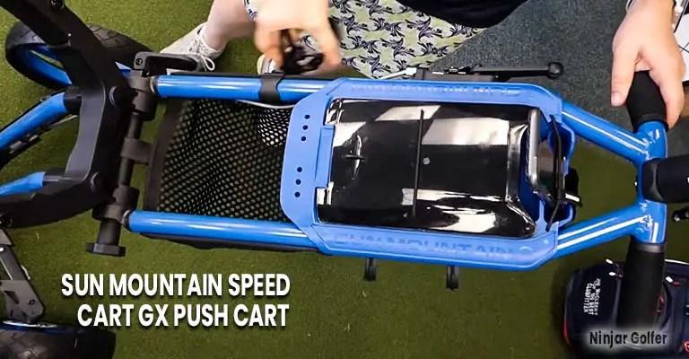 Sun Mountain Speed Cart GX Push Cart