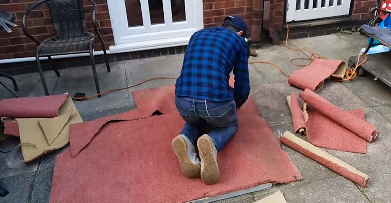 How to Make a Homemade Golf Mat FI