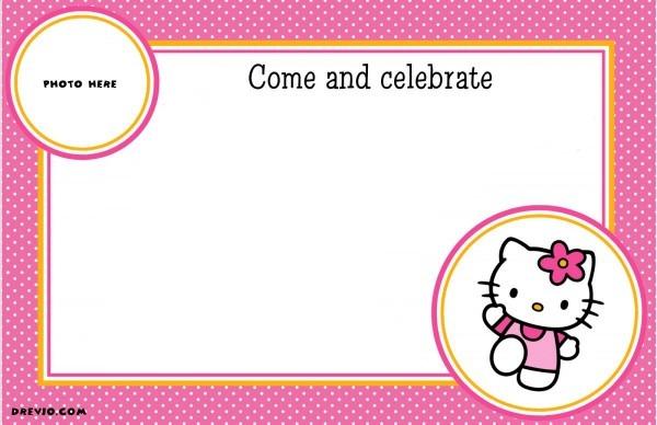 download hello kitty invitation template