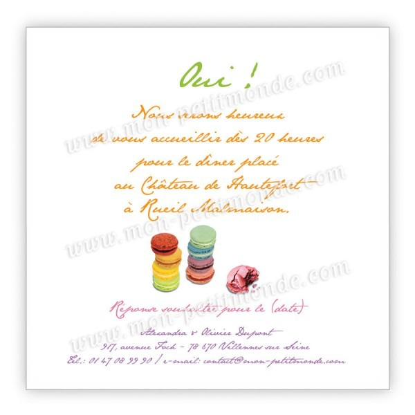 invitation 50 ans humour