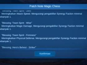 Blessing Magic Chess Mobile Legends
